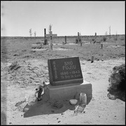 Granada Relocation Center, Amache, Colorado. Not all the center residents will return to their form . . . - NARA - 539932