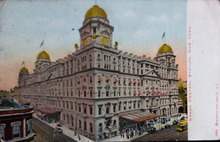 Postcard of Grand Central Station, circa 1902