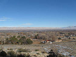 Looking north from Grand Junction