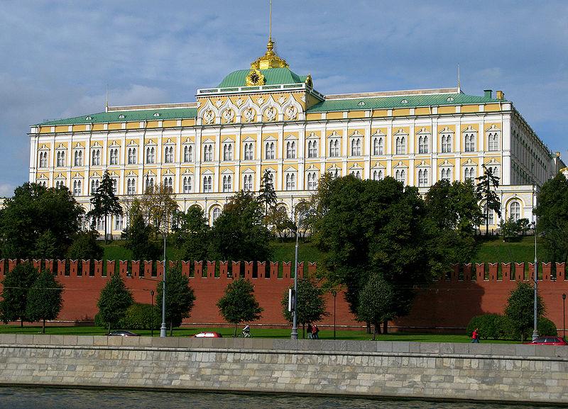 Palacio del Kremlin (año 1838)