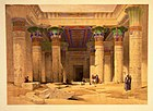 Grand Portico of the Temple of Philae-David Roberts.jpg