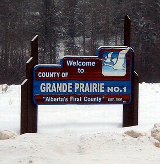 County of Grande Prairie No. 1 Municipal district in Alberta, Canada