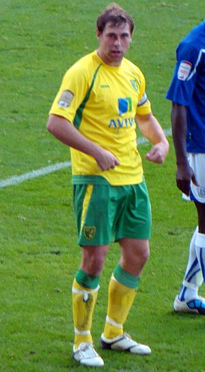 Grant Holt - Holt playing for Norwich City in 2010