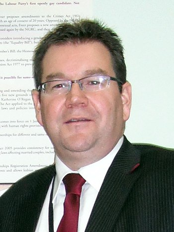 New Zealand Labour Party MP Grant Roberts in 2009