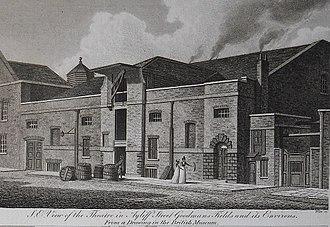Mary Hayley - Great Ayliff Street on Goodman's Fields, London