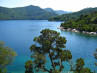 Protected areas of Croatia - Image: Great Lake, Island of Mljet, Croatia