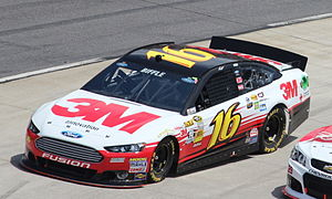 Greg Biffle - Biffle competes in the 2013 STP Gas Booster 500