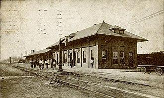 Grenada, Mississippi - Grenada Depot, c. 1910