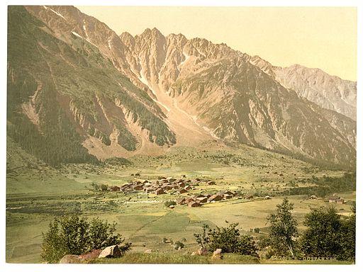 Grimselstrasse, Guttannen, Bernese Oberland, Switzerland-LCCN2001701155