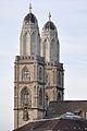 Grossmünster - Karlsturm - Quaibrücke 2010-09-02 18-57-00 ShiftN.jpg