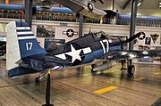Grumman F6F-3 Hellcat BuNo 66237 (C-N- A-1257) (National Naval Aviation Museum) (8856880680).jpg