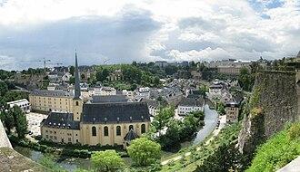 Grund, Luxembourg - Image: Grund, Luxembourg