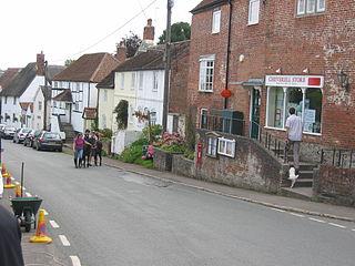 Great Cheverell village in United Kingdom