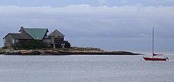 Long Island Sound cerca de Guilford.