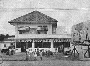 Gunung Agung (bookstore) - Gunung Agung bookshop, 1954
