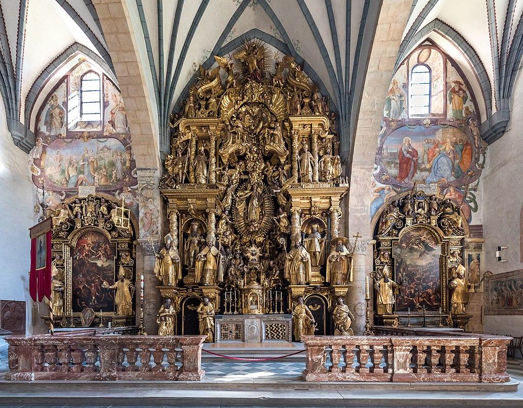 Dom zu Gurk (Domplatz 1) Hochaltar und Seitenaltäre