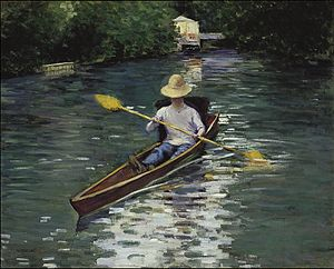 Gustave Caillebotte - Canoë sur la rivière Yerres.jpg
