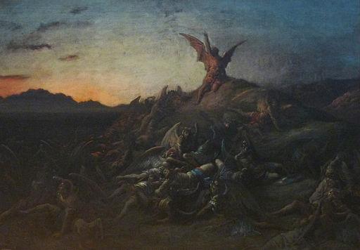 Gustave Doré-La chute des anges rebelles