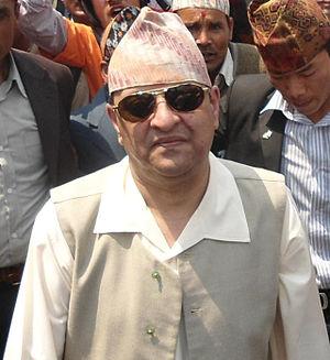 King of Nepal - Gyanendra Bir Bikram Shah