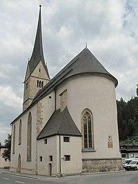 Pfarrkirche zum hl. Leonhard Hüttau