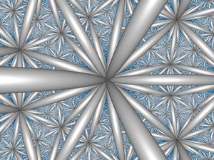 Order-6 tetrahedral honeycomb - Image: H3 336 CC center