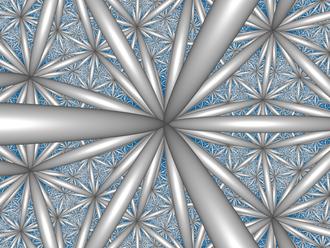 Paracompact uniform honeycombs - Image: H3 336 CC center