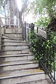 HK 半山區 Mid-levels 衛城道 Castle Road Caine Road stairs September 2019 IX2 01.jpg