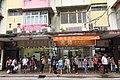 HK 荃灣 Tsuen Wan 河背街 Ho Pui Street shops July 2018 IX2 visitors queue await.jpg