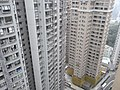 HK Mid-levels 21 Robinson Road 豪景閣 Good View Court roof view 1 Block 8 Robinson Heights March-2011.JPG
