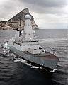 HMS Dragon Near Gibraltar MOD 45155272.jpg
