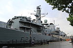 HMS Northumberland (F238) at West India South Dock 11.JPG