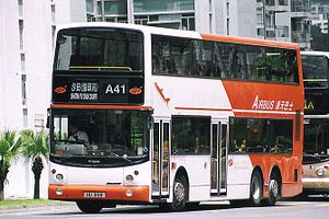 Long Win Bus - Alexander ALX500 bodied Dennis Trident 3