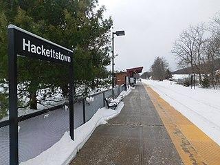 Hackettstown station
