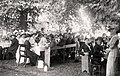 Hagnaby Grange Fete 1914, in Hagnaby, East Kirkby, Lincolnshire 02.jpg