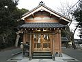 Haiden of Shingu Shrine in Shingu, Kasuya, Fukuoka.jpg