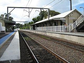 Newcastle railway line, New South Wales