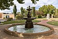 Hankinson Memorial Fountain located in Memorial Gardens in Narrandera.jpg