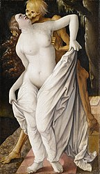 Hans Baldung: Death and the Woman