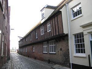 Steelyard - Surviving Hanseatic warehouse in King's Lynn, Norfolk