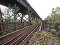 Harahan Bridge from Arkansas, Roadbase Steel Railings - panoramio.jpg