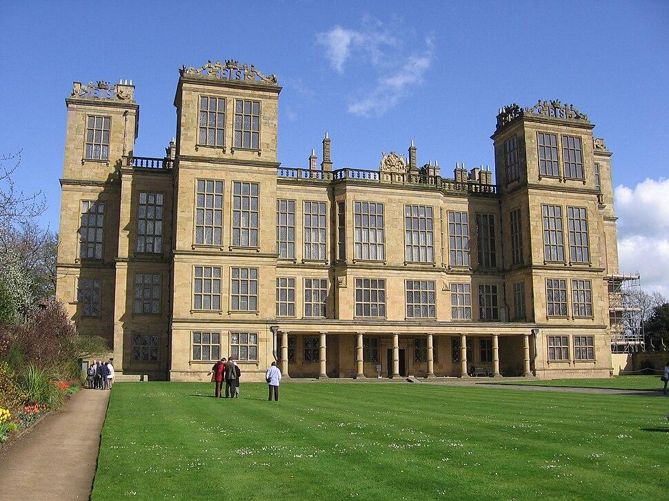 Hardwick Hall in Doe Lea - Derbyshire