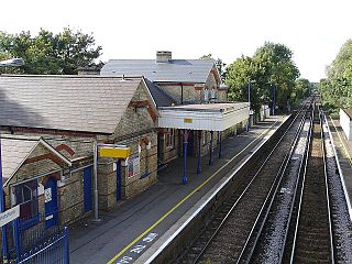 Harrietsham railway station