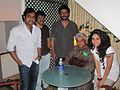 Harris with Javed Akhtar, Nishikanth Kamath and singers..jpg