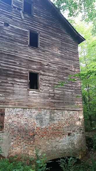 Edgewood Plantation and Harrison's Mill - Harrison Mill at Edgewood Plantation