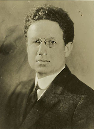 "Fundamentalist–Modernist controversy - A 1926 photograph of Harry Emerson Fosdick (1878–1969), whose 1922 sermon ""Shall the Fundamentalists Win?"" sparked the Fundamentalist-Modernist controversy."