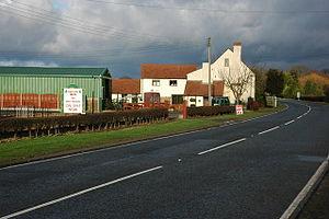 Draycott, Worcestershire - Image: Hartland's Nursery at Draycott