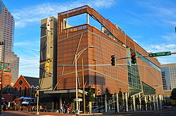 Harvey B. Gantt Center on Opening Day.jpg