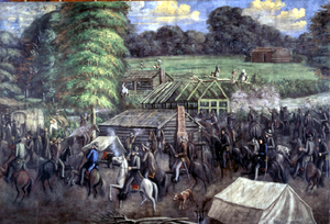 "Missouri Executive Order 44 - ""Haun's Mill"" by C. C. A. Christensen"