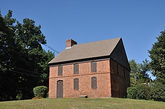 Hannah Duston - The Dustin House or Dustin Garrison House, built about 1700, is a historic First Period house at 665 Hilldale Avenue in Haverhill, Massachusetts.