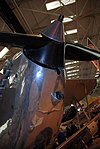 Hawker Hind nose, propeller details, RAF Museum, Cosford. (13700423214).jpg
